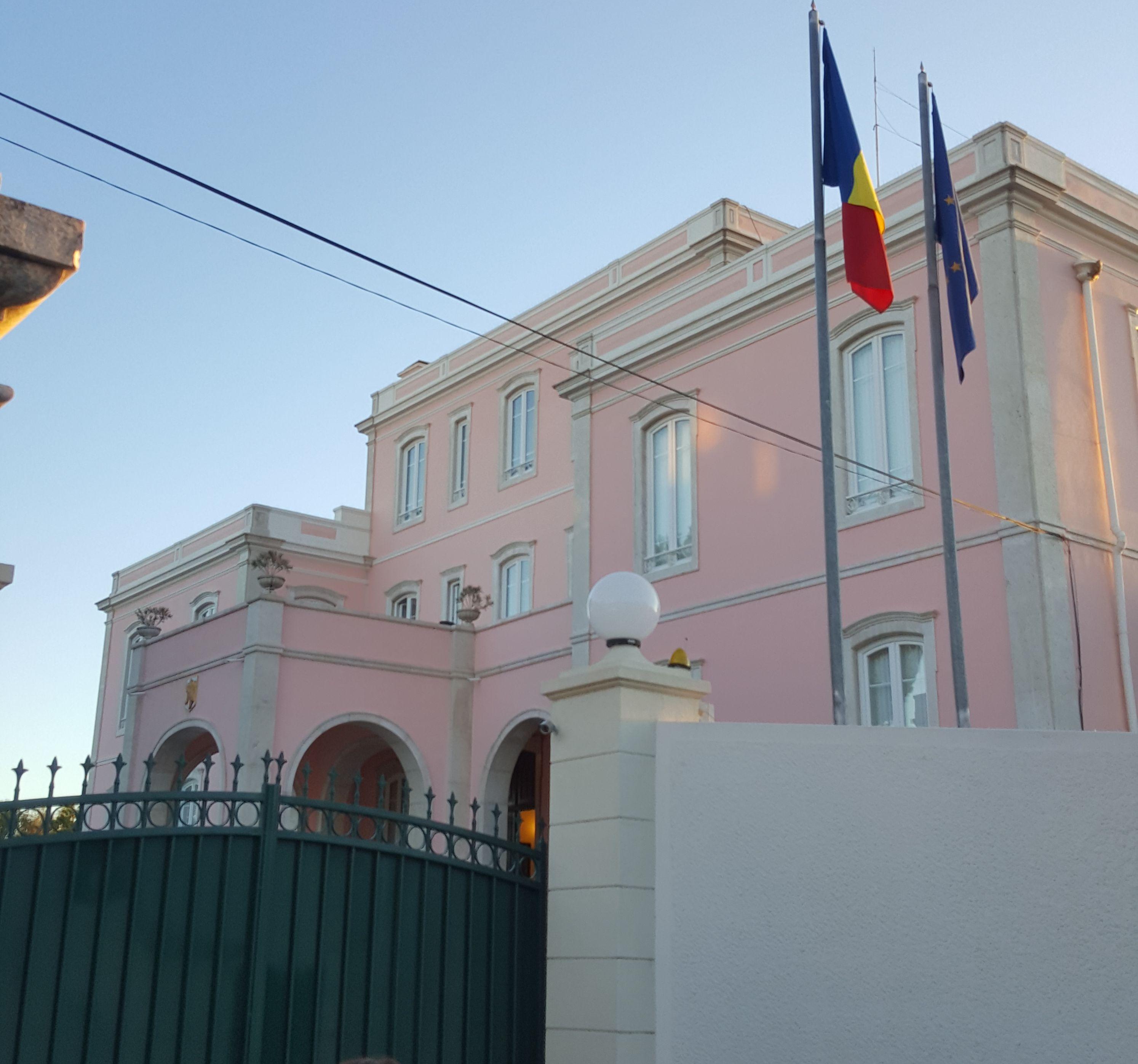 ambasada romaniei